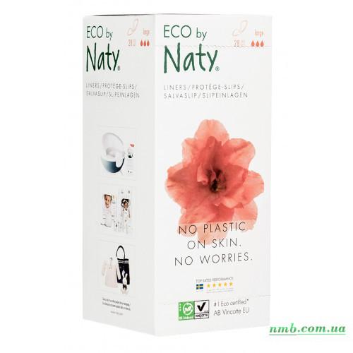 Органические ежедневные прокладки Eco by Naty 28 шт фото