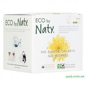 Органические прокладки Eco by Naty Normal 15 шт БЕЗ КРЫЛЫШЕК