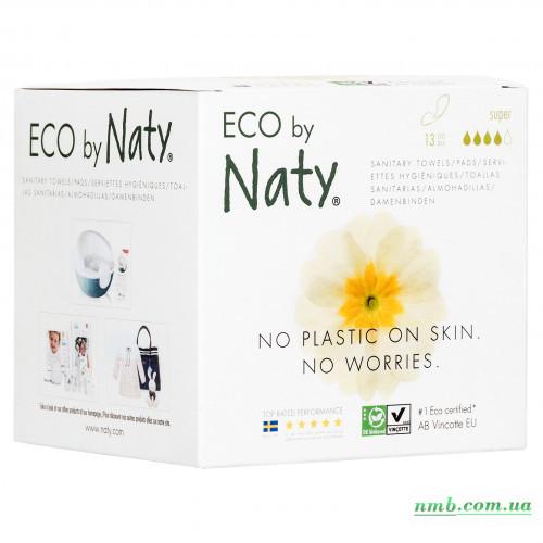 Органические прокладки Eco by Naty Super 13 шт фото