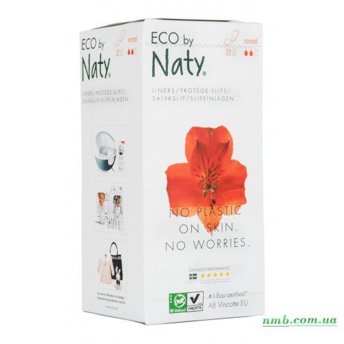 Органические ежедневные прокладки Eco by Naty Normal 32 шт фото