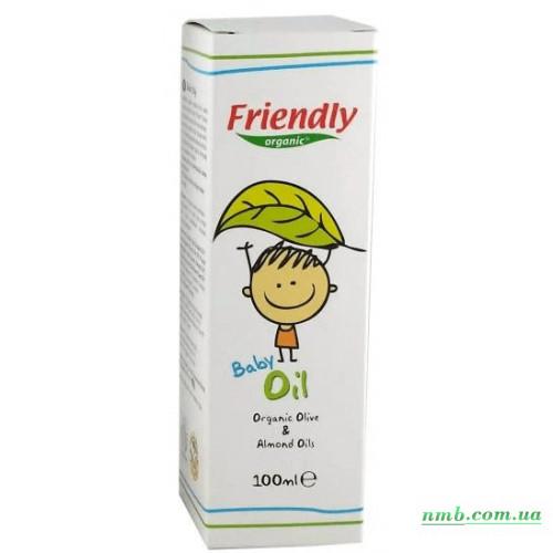 Органическое детское масло  фото