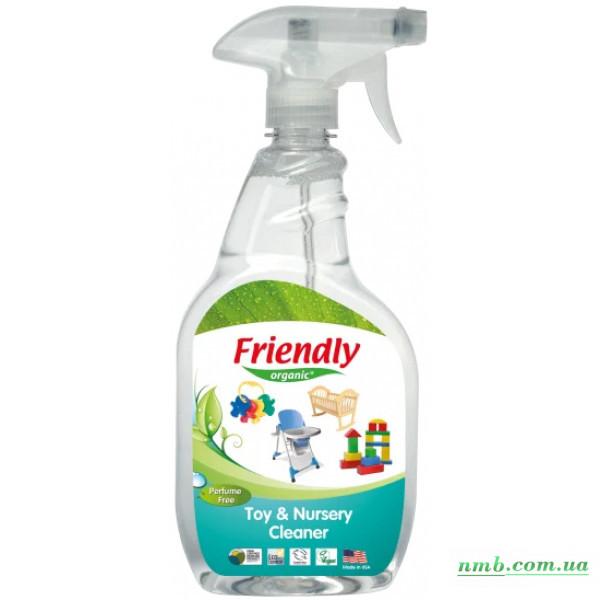 Органічне очищуючий засіб-концентрат для дитячої кімнати та іграшок фото