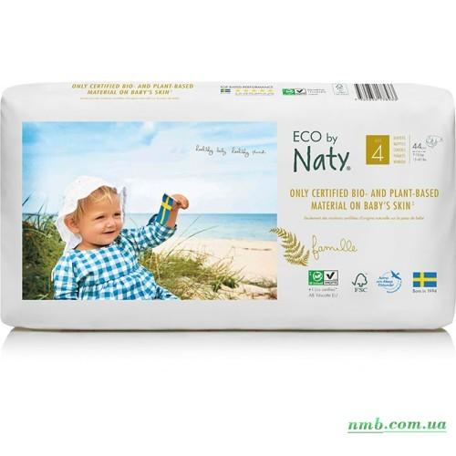 Органические подгузники Eco by Naty Размер 4 (от 7 до 18 кг) 44 шт фото
