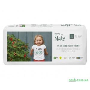 Органические подгузники Eco by Naty Размер 4 (от 7 до 18 кг) 44 шт