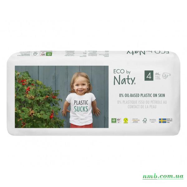 Органічні підгузники Eco by Naty Розмір 4 (від 7 до 18 кг) 44 шт фото