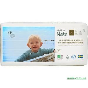 Органические подгузники трусики Eco by Naty трусики Размер 4 (от 8 до 15 кг) 36 шт фото