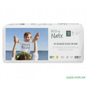 Органические подгузники Eco by Naty Размер 3 (от 4 до 9 кг) 50 шт