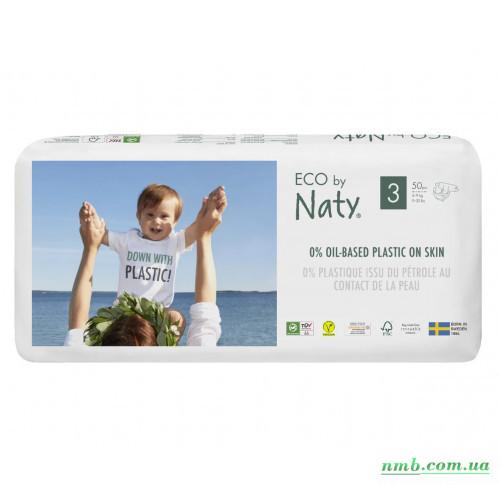 Органические подгузники Eco by Naty Размер 3 (от 4 до 9 кг) 50 шт фото