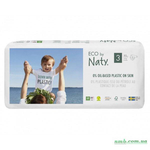 Органічні підгузники Eco by Naty Розмір 3 (від 4 до 9 кг) 50 шт фото
