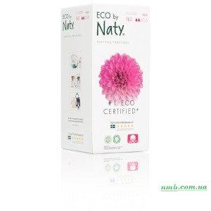 Органічні тампони Eco by Naty з апплікатором Regular 16 шт