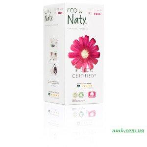 Органические тампоны Eco by Naty с аппликатором Super Plus 14 шт