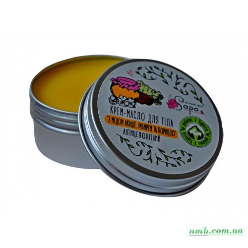 Крем - масло для тела с медом акации, имбирем и корицей фото