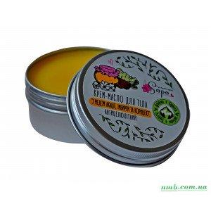 Крем - масло для тела с медом акации, имбирем и корицей
