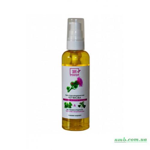 Карпатское натуральное репейное масло фото