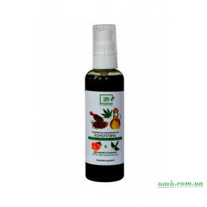 Натуральное конопляное масло с эфирным маслом пачули и апельсина