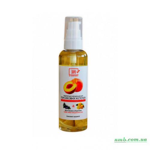 Масло Персиковых косточек с эфирным маслом розмарина  фото
