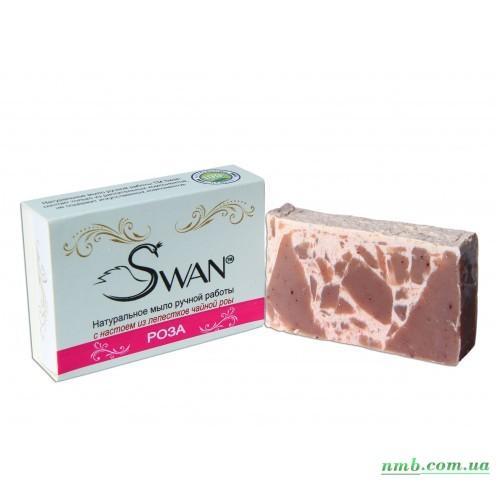 Натуральное мыло Роза фото